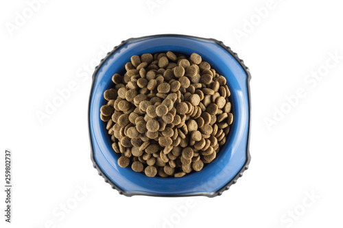 Dog food in bowl © xiao