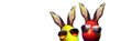Leinwandbild Motiv Frohe Ostern!