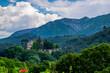 Leinwanddruck Bild - Schloss Vauvenargues,  Provence