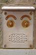 Abstract Face Doorbell