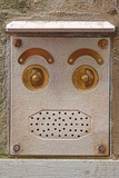 Abstract Face Doorbell