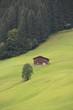 canvas print picture - Berghütte