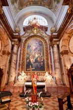 """Постер, картина, фотообои """"Karlskirche St. Charles church. Vienna Austria"""""""
