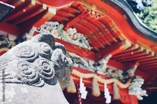 Japan Temple statue detail © Lisa