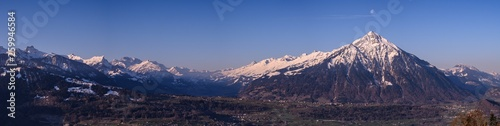 canvas print picture Swiss Mountains