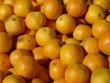 canvas print picture - Saftig gelbe Apfelsinen / Orangen auf einem Haufen