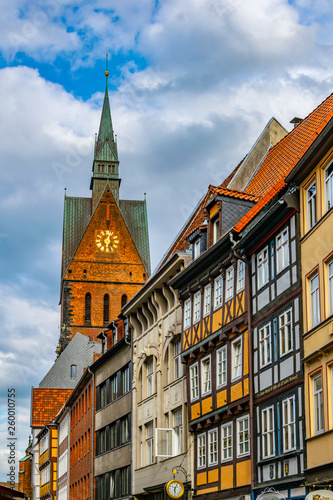 fototapeta na ścianę Marktkirche in the center of Hannover, Germany