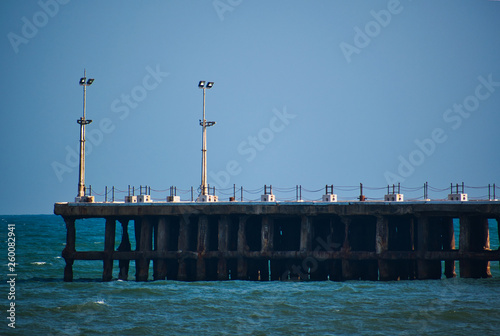 Pier on the sea © Gunjan