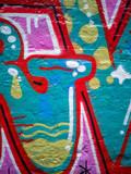 abstract urban graffiti street wall