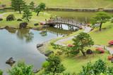 Japanese Garden 'Gyokuseninmaru Garden' in Kanazawa, Japan