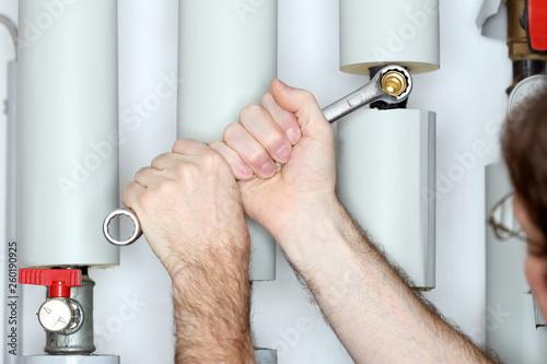 canvas print picture montieren einer Tauchhülse