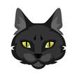 Icon of cat head.