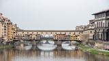 Vista urbana, Ponte Vecchio Firenze