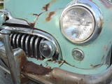 1948 Buick Front, Lamp, Grill & Bumper