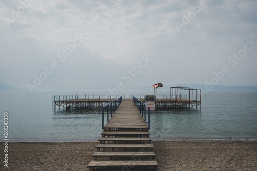pier on the lake © Georgi