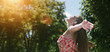 Leinwanddruck Bild - Hello Sun!