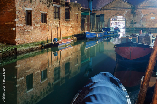 Old dock at Venice canal