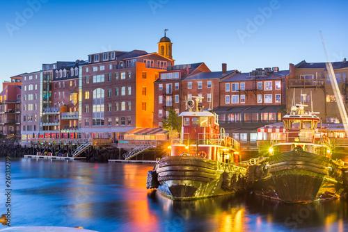 Leinwandbild Motiv Portsmouth, New Hampshire, USA