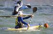 partita di canoa polo femminile