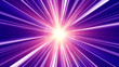 Leinwandbild Motiv pulses star ray abstract