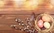 Leinwandbild Motiv Easter.