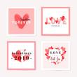 Lovely romantic card set