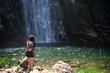 Girl in the Waterfall - 260432163