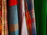 colorful fabric shirt textile background