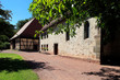 canvas print picture - Gate church, Convent Veßra, Thuringia, Germany, Europe