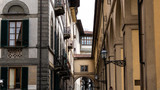 Architecture scene detail of old famous landmarks in Firenze, Italy