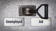 Wall Switch Job versus Unemployed