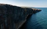 Irlanda, Parco Nazionale del Burren (Boireann), le scogliere.