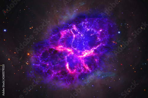 the process of birth of new star or supernova, elements of this image furnished by nasa b