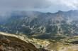 Amazing Panorama from Musala peak, Rila mountain, Bulgaria - 260586923