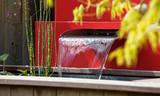 Bassin et lame d'eau pour jardin zen