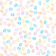 Happy Easter holiday seamless background