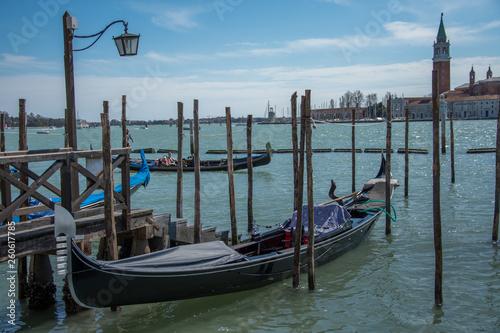 Gondolas in Venice,Italy.2019 © Laurenx