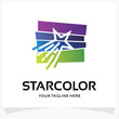 Star Color Logo Design Template Inspiration