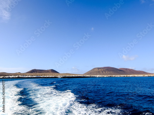 Landscape in Tropical Volcanic Canary Islands Spain - 260634777