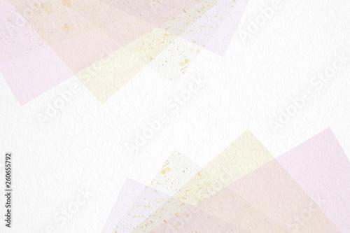 和紙による背景素材(ブルー系を基調としたパステルカラー) © imagefuji
