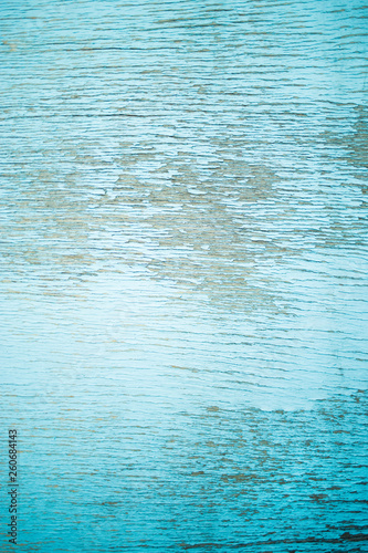 blue textured wooden-Lg Fridge Magnet Skin (size 36x65)