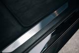 Car door threshold. Car open door frame