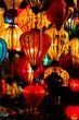 Leinwanddruck Bild - Traditionnal lantern in Hoi An vietnam
