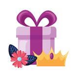 gift crown flower