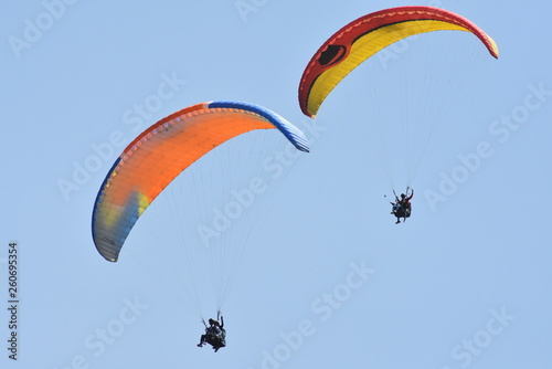 paraglider in the sky © Neeraj