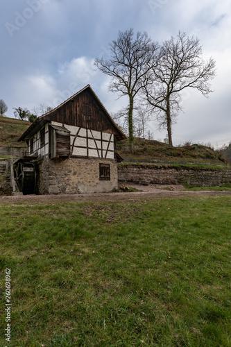 canvas print picture Alte Wassermühle in Seebach im Schwarzwald