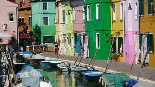 fototapeta na ścianę maisons colorées