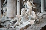 The famous Fontana di Trevi