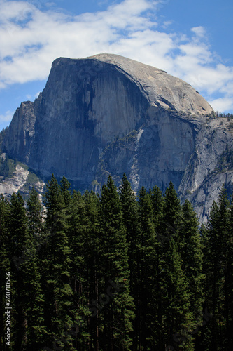 canvas print picture Half Dome