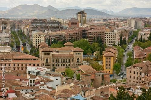 Vista de la parte nueva de Granada desde el Albaicín - 260720965